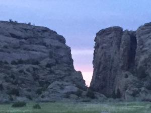 Devil's Gate at sunset