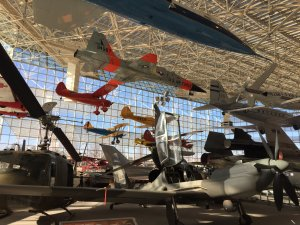 A cornucopia of historic airplanes.