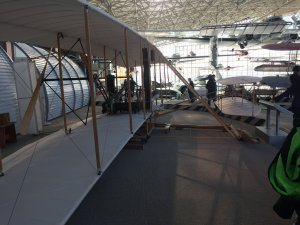 Our tour guide, Bart, began our day with the fascinating story of the Wright Flyer.