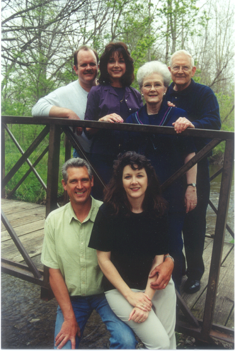 Walton family picture Spring 2000