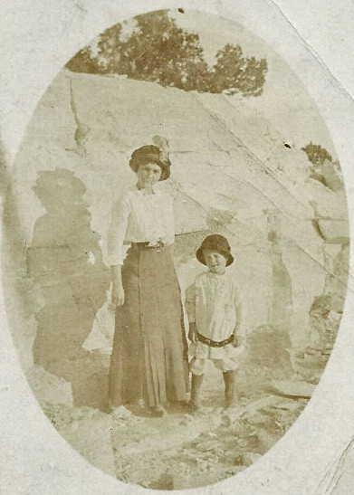 White Laura Willard standing